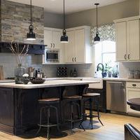 Craftsman industrial kitchen overall