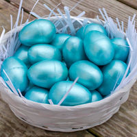 Metallic easter eggs 15
