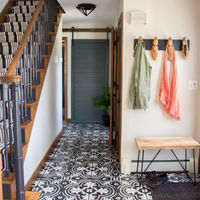 Painted faux cement tile floors 37 680x1020