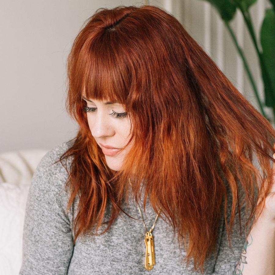 Elsies everyday flat iron curls