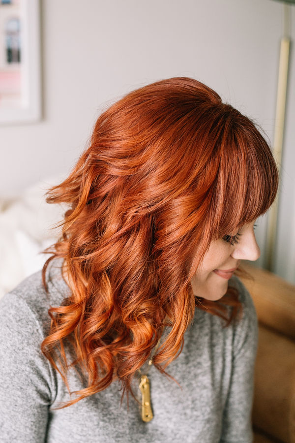 Elsies everyday flat iron curls 6