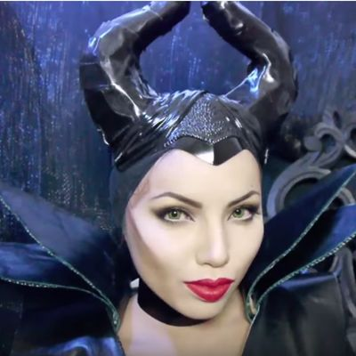 Before After Maleficent Makeup By Promise Tamang Snaptwice